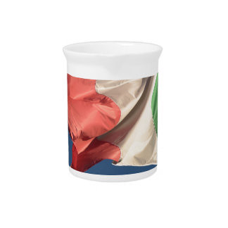 italian flag pitcher