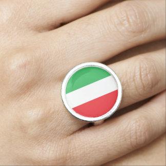 """""""Italian Flag"""" Ring"""