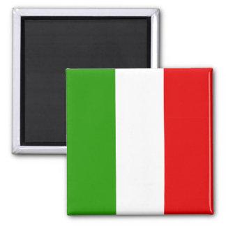 Italian Flag Square Magnet