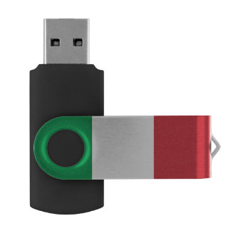 Italian flag USB flash drive