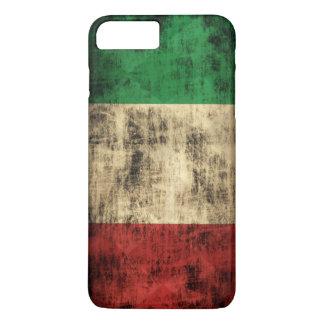 Italian Flag Vintage Grunge iPhone 7 Plus Case