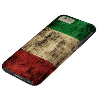 Italian Flag Vintage Grunge Tough iPhone 6 Plus Case