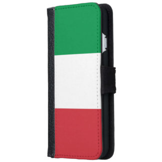 Italian Flag iPhone 6 Wallet Case