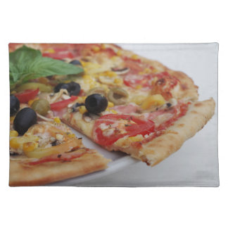 Italian food pizza placemat
