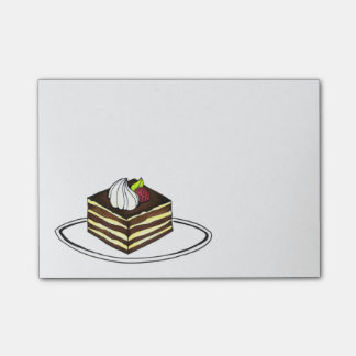 Italian Food Tiramisu Dessert Foodie Post Its Post-it Notes