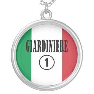 Italian Gardeners : Giardiniere Numero Uno Necklace