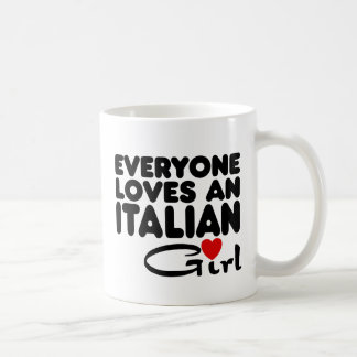 Italian Girl Coffee Mug