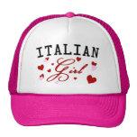 Italian Girl Pink Hat