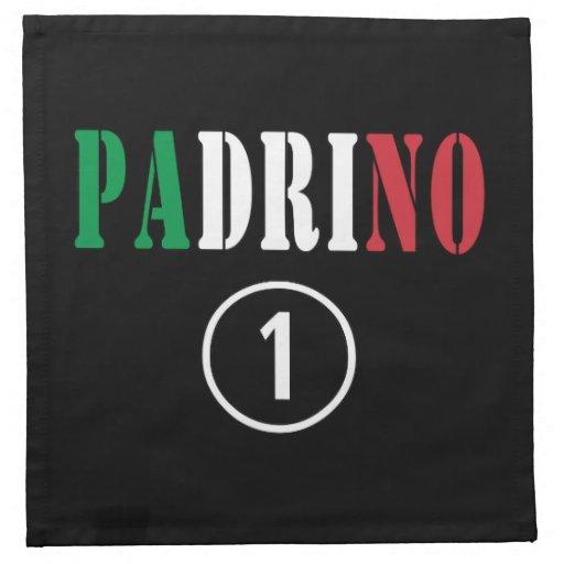 Italian Godfathers : Padrino Numero Uno Napkins