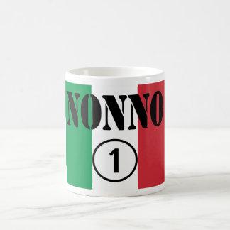 Italian Grandfathers : Nonno Numero Uno Basic White Mug