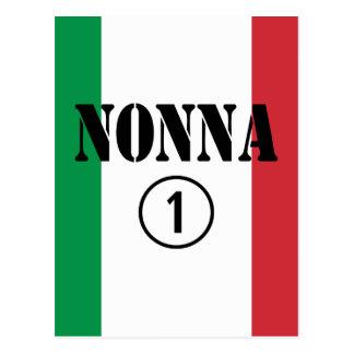 Italian Grandmothers : Nonna Numero Uno Postcard
