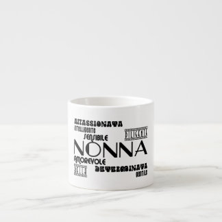 Italian Grandmothers : Qualities Espresso Cup