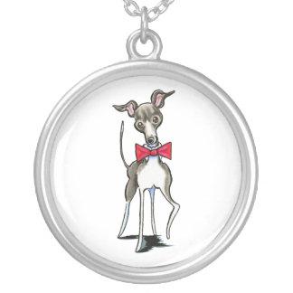 Italian Greyhound Antonio Necklaces