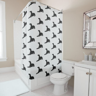 Italian Greyhound Bathroom Shower Curtain Iggy