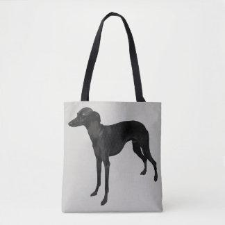 Italian Greyhound Canvas Tote Bag