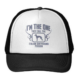 Italian Greyhound Trucker Hat