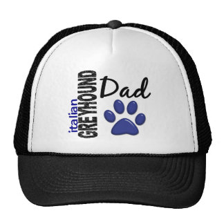 Italian Greyhound Dad 2 Cap