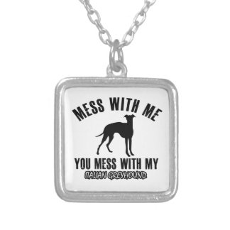italian greyhound design custom jewelry
