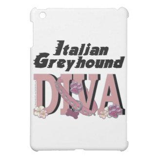 Italian Greyhound DIVA iPad Mini Covers