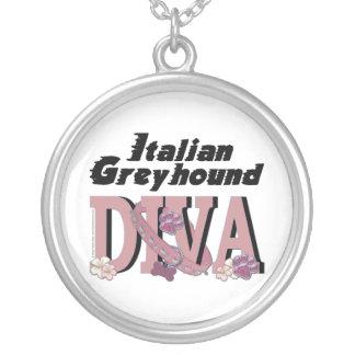 Italian Greyhound DIVA Pendant