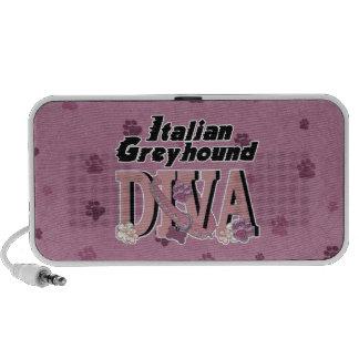 Italian Greyhound DIVA Speaker System