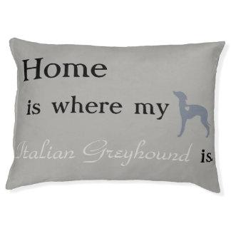 Italian Greyhound Dog Bed- Pet Bed