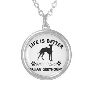 Italian Greyhound dog breed designs Jewelry