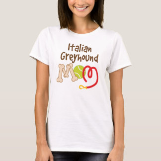 Italian Greyhound Dog Breed Mom Gift T-Shirt