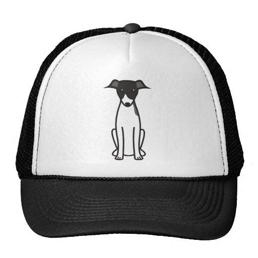 Italian Greyhound Dog Cartoon Hats