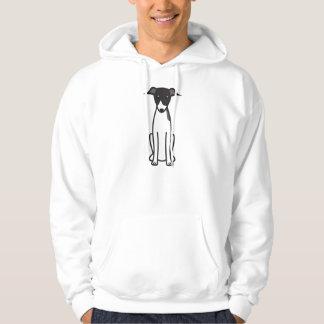 Italian Greyhound Dog Cartoon Hoodie
