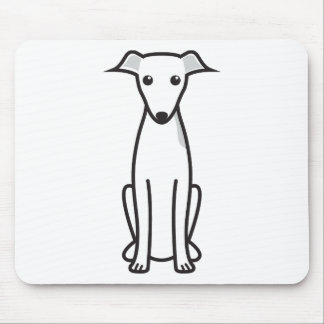 Italian Greyhound Dog Cartoon Mouse Mat