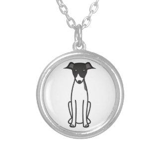 Italian Greyhound Dog Cartoon Custom Jewelry
