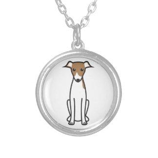 Italian Greyhound Dog Cartoon Necklaces