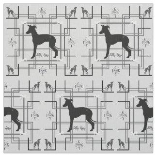 Italian Greyhound Dog  Rescue Joann Fabric Iggy