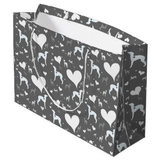 Italian Greyhound Dog Wrapping Gift Bag Iggy