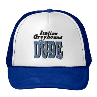 Italian Greyhound DUDE Hat