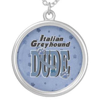 Italian Greyhound DUDE Pendants