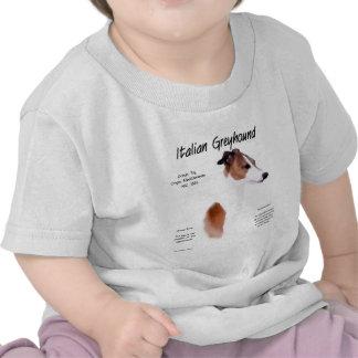 Italian Greyhound History Design T Shirts