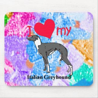 Italian Greyhound Iggy Mousepad