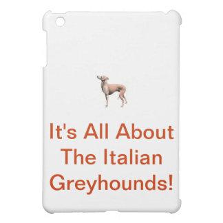 Italian Greyhound Cover For The iPad Mini