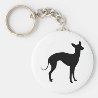 Italian Greyhound Key Ring
