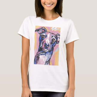 Italian Greyhound Pop Art T shirt