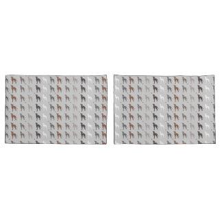 Italian Greyhound Print Pillowcases Bedding Iggy