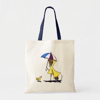 Italian Greyhound Raincoat Budget Tote Bag