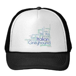 Italian Greyhound Shirt Hats