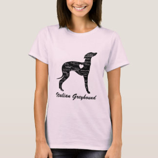 Italian Greyhound Shirt- Silly Iggy T-Shirt