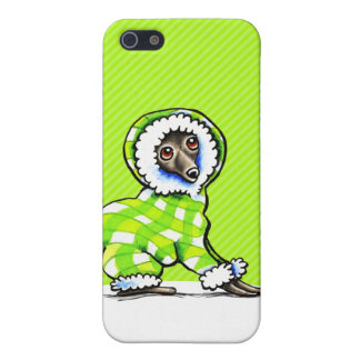 Italian Greyhound Snowsuit Winter Cover For iPhone 5/5S