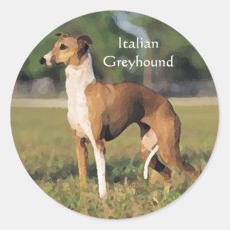 Italian Greyhound Stickers