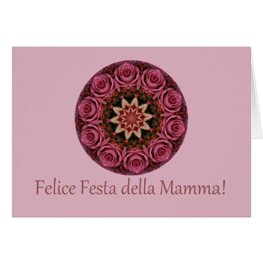 italian Happy Mother's Day! Card