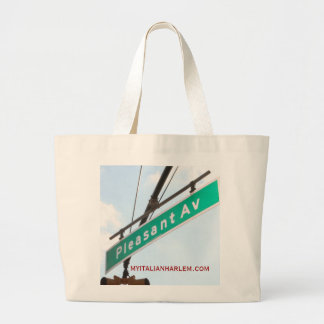 Italian Harlem Large Tote Bag